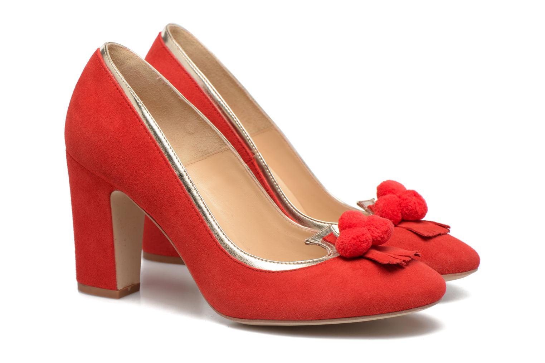 Escarpins Made by SARENZA Bombay Babes Escarpins #1 Rouge vue derrière