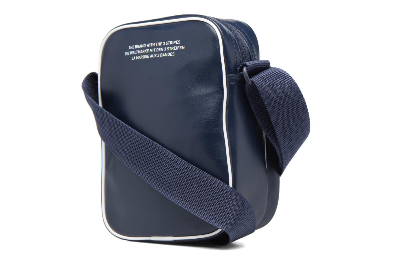 Sacs homme Adidas Originals Mini Bag Vint Bleu vue droite