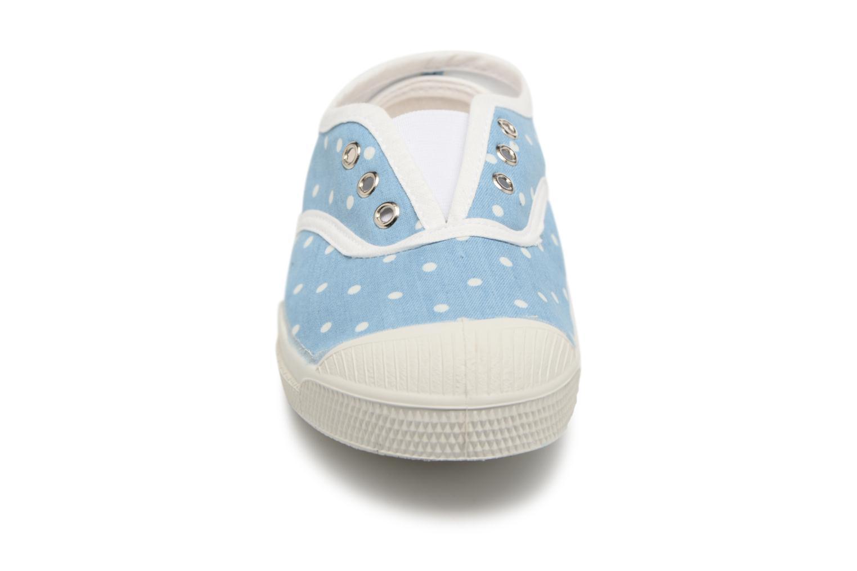 Baskets Bensimon Tennis Elly Poisdenim E Bleu vue portées chaussures