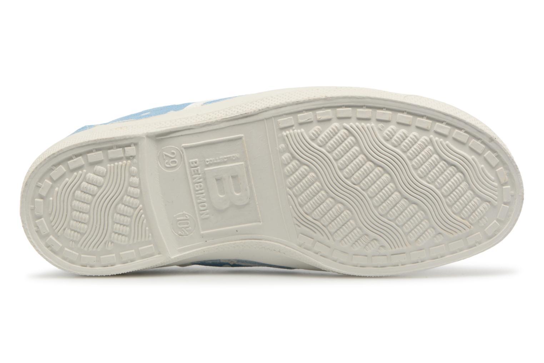 Sneaker Bensimon Tennis Elly Poisdenim E blau ansicht von oben