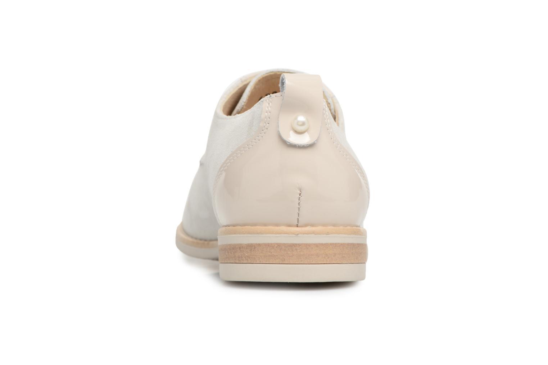 Chaussures à lacets Georgia Rose Ninou Beige vue droite