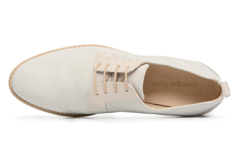 Chaussures à lacets Georgia Rose Ninou Beige vue gauche