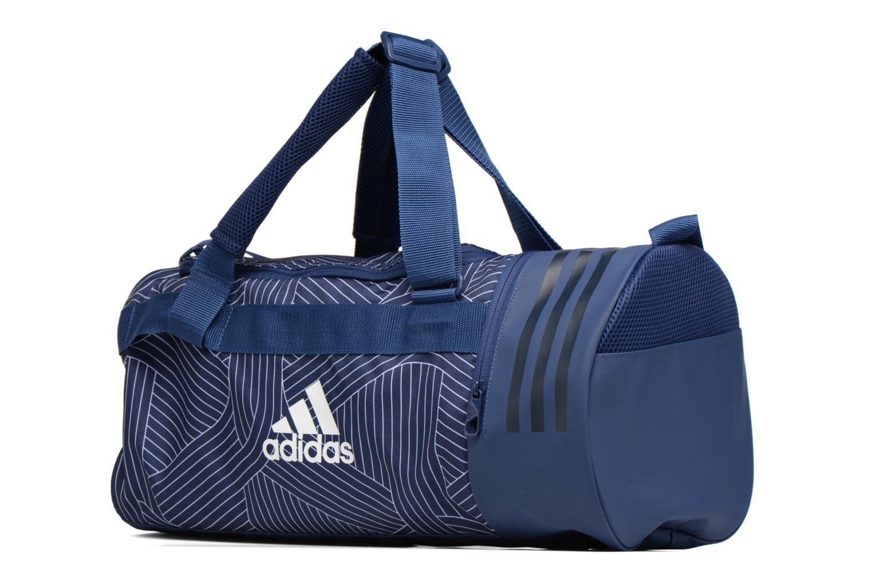Sporttaschen Adidas Performance CVRT 3S Duf S blau schuhe getragen
