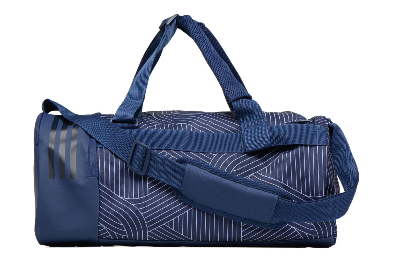 Sporttaschen Adidas Performance CVRT 3S Duf S blau ansicht von vorne