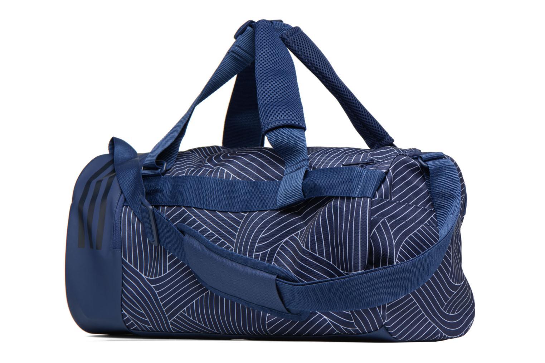 Sporttaschen Adidas Performance CVRT 3S Duf S blau ansicht von rechts
