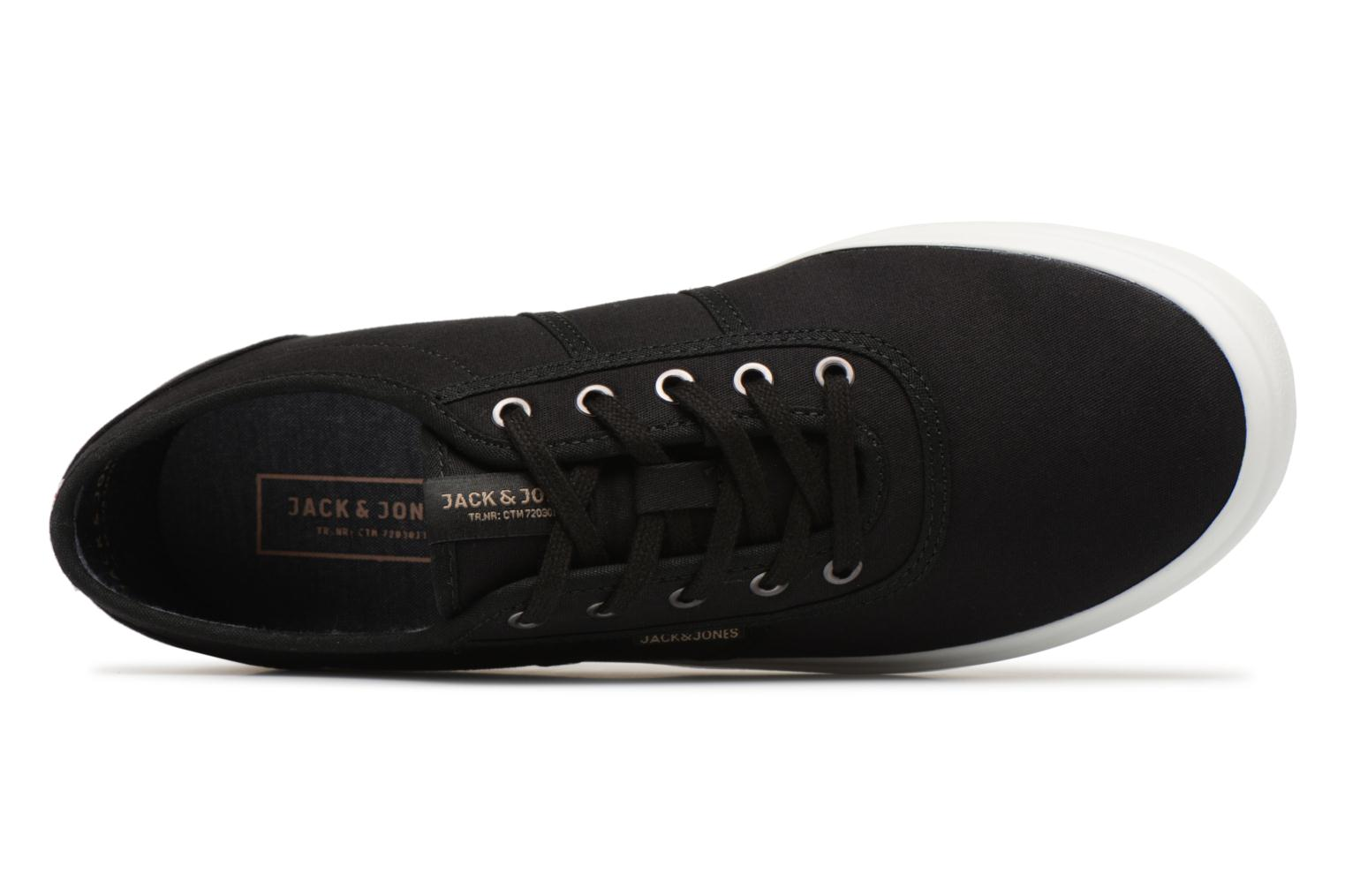 Trainers Jack & Jones JFW Austin Canvas Grey view from the left