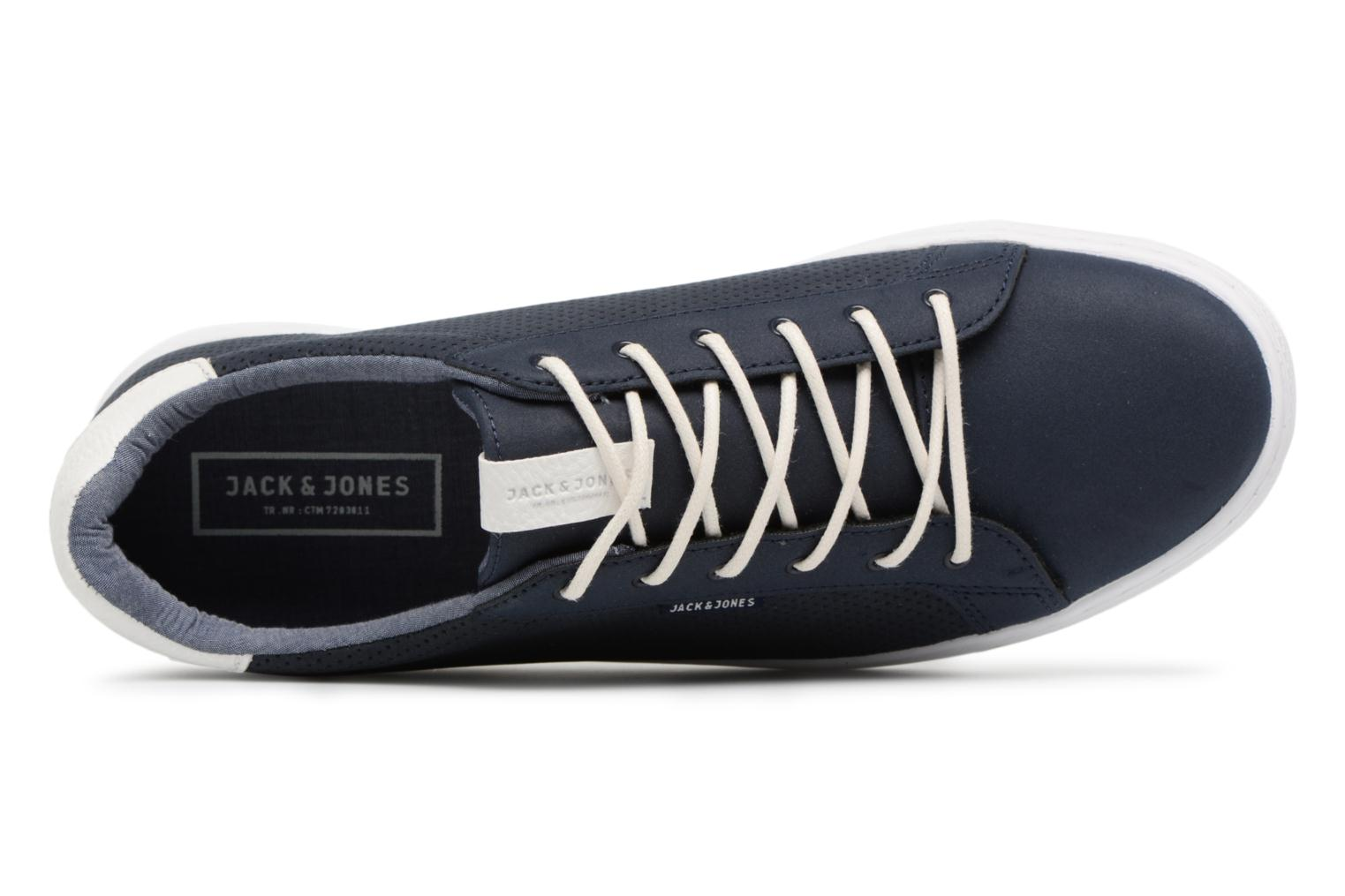 Trainers Jack & Jones JFW Trent Synthetic Suede Blue view from the left