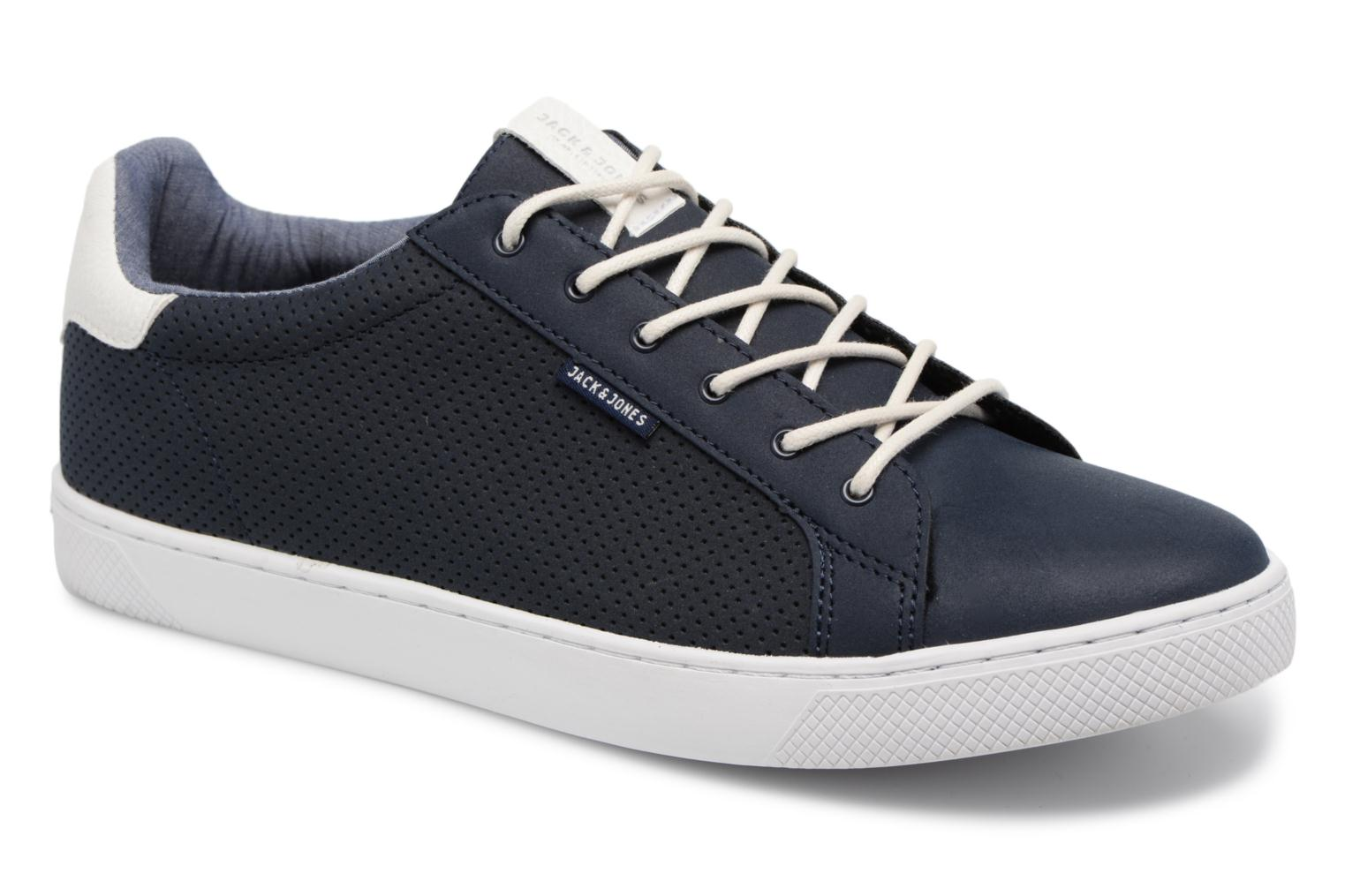 Trainers Jack & Jones JFW Trent Synthetic Suede Blue detailed view/ Pair view