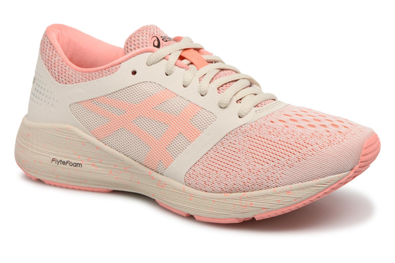 Chaussures de sport Asics Roadhawk Ff Sp Rose vue détail/paire