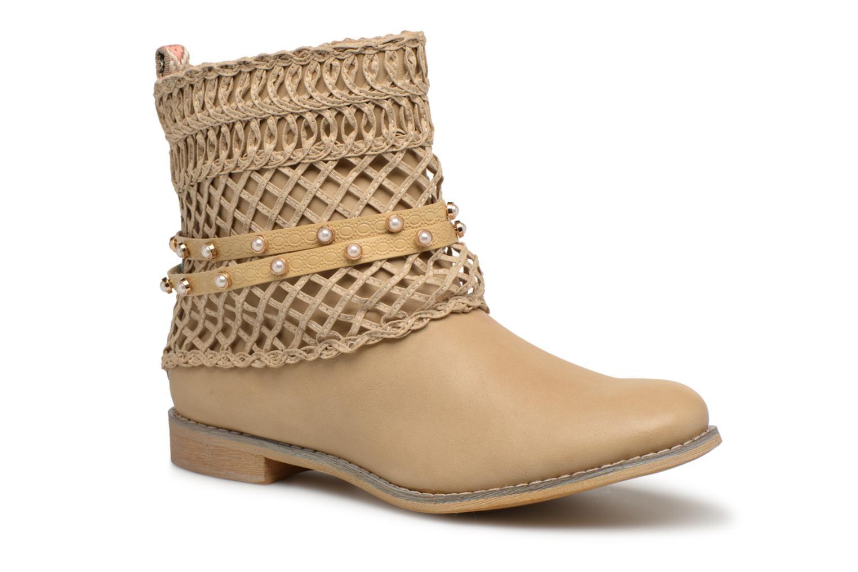 Bottines et boots Bullboxer BESSIE Beige vue détail/paire