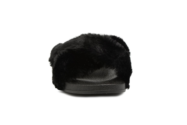 Mules et sabots I Love Shoes Kifcross Noir vue portées chaussures