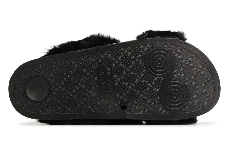 Mules et sabots I Love Shoes Kifcross Noir vue haut