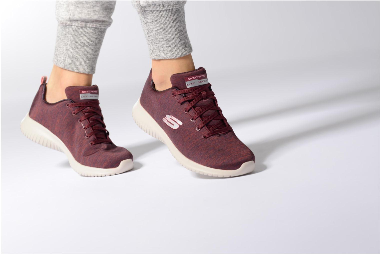 Chaussures de sport Skechers Ultra Flex-First Choice Gris vue bas / vue portée sac