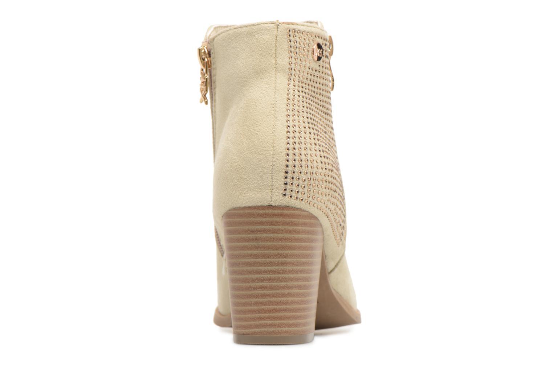 Bottines et boots Xti Hapapy Beige vue droite