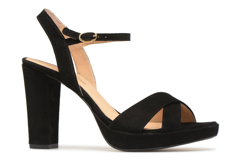 Sandales et nu-pieds Georgia Rose Lypatou Noir vue derrière