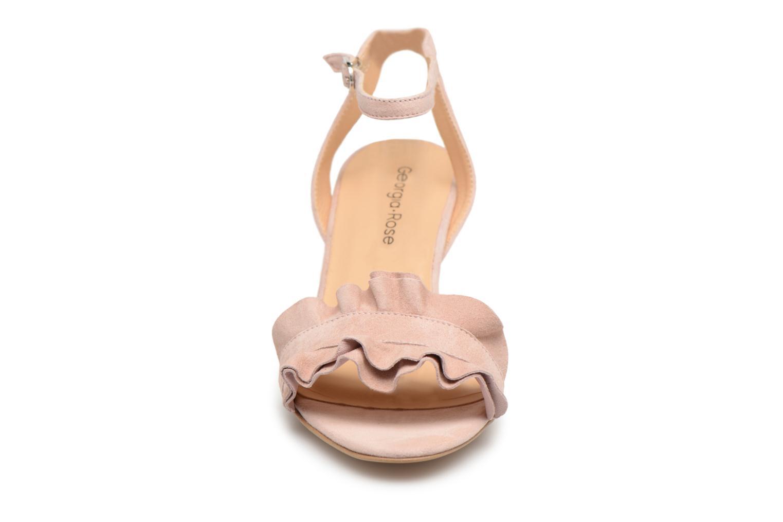 Sandales et nu-pieds Georgia Rose Lyvolan Rose vue portées chaussures