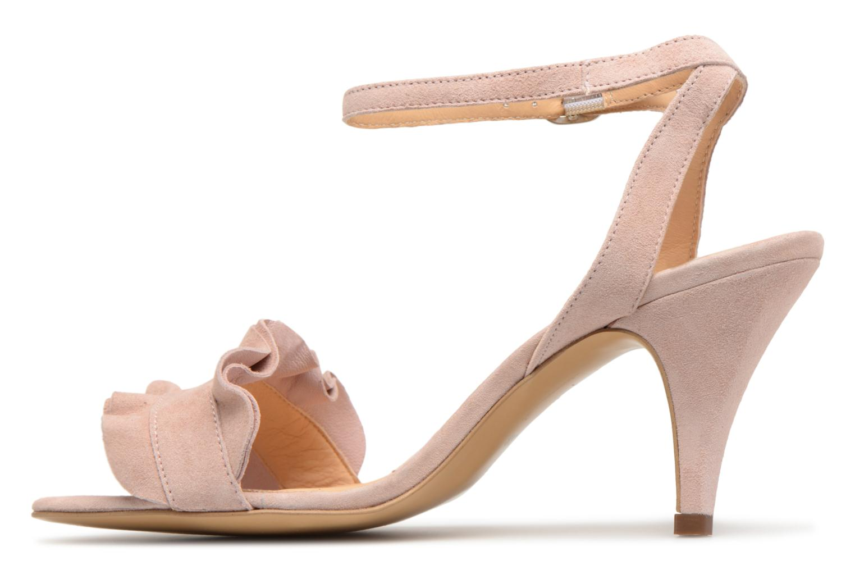 Sandales et nu-pieds Georgia Rose Lyvolan Rose vue face