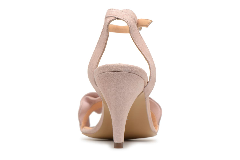 Sandales et nu-pieds Georgia Rose Lyvolan Rose vue droite