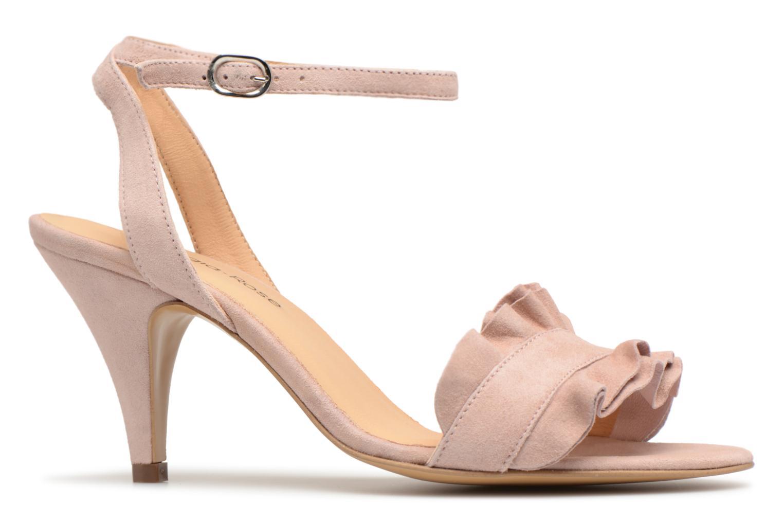 Sandales et nu-pieds Georgia Rose Lyvolan Rose vue derrière
