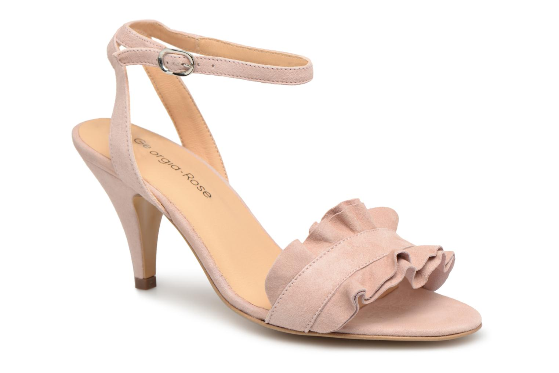 Sandales et nu-pieds Georgia Rose Lyvolan Rose vue détail/paire