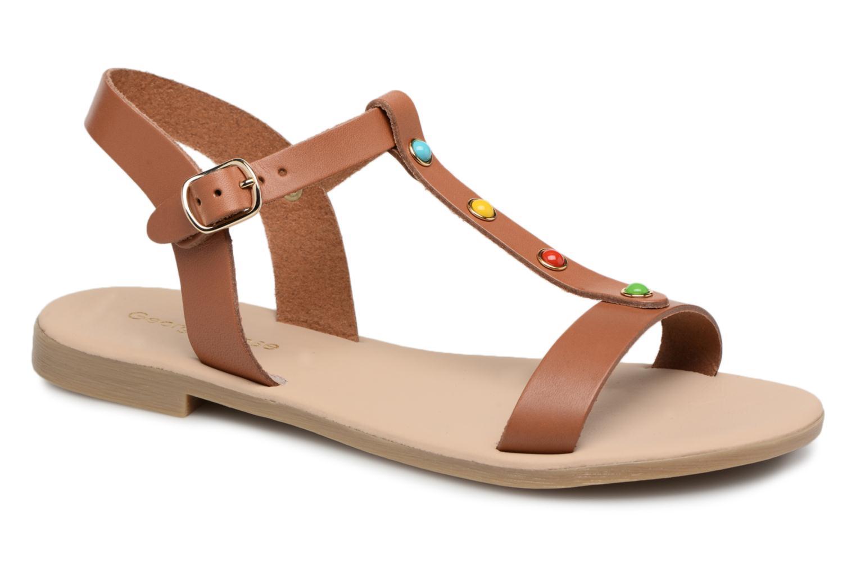 Zapatos promocionales Georgia Rose Miperlou (Marrón) - Sandalias   Zapatos casuales salvajes
