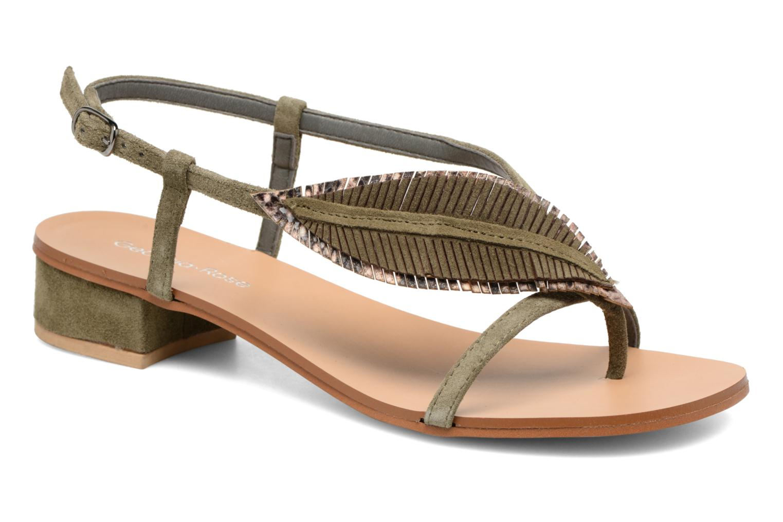 Los últimos zapatos de hombre y mujer Georgia Rose Mifeuilla (Verde) - Sandalias en Más cómodo
