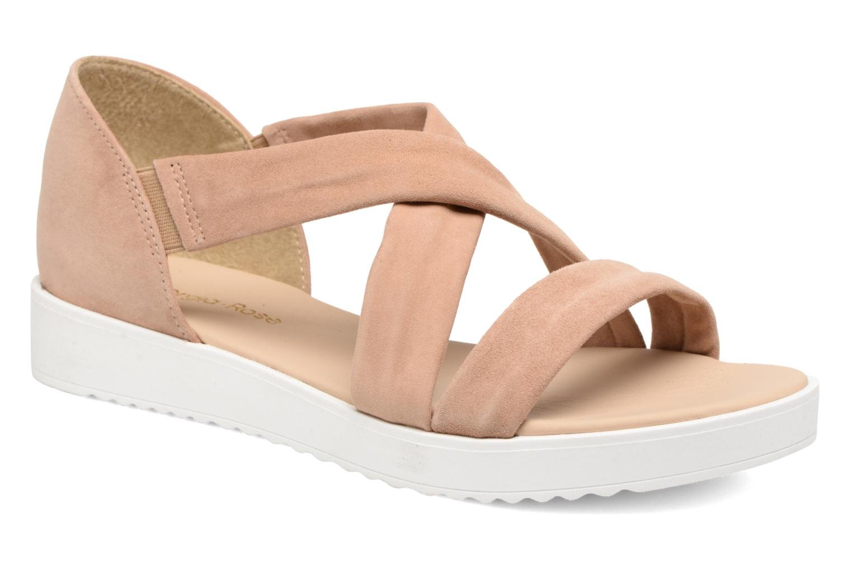 Zapatos de moda hombres y mujeres de moda de casual Georgia Rose Milena Soft (Beige) - Sandalias en Más cómodo 3e721b