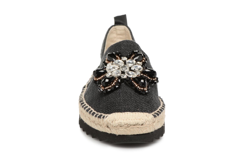 Espadrilles Refresh Gawa Noir vue portées chaussures