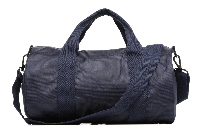 Sporttaschen Fred Perry Checked Twill Barrel bag blau ansicht von vorne