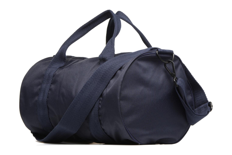Sporttaschen Fred Perry Checked Twill Barrel bag blau ansicht von rechts