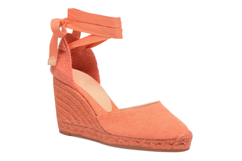 Grandes descuentos últimos zapatos Castaner Carina C H8 (Naranja) - Alpargatas Descuento