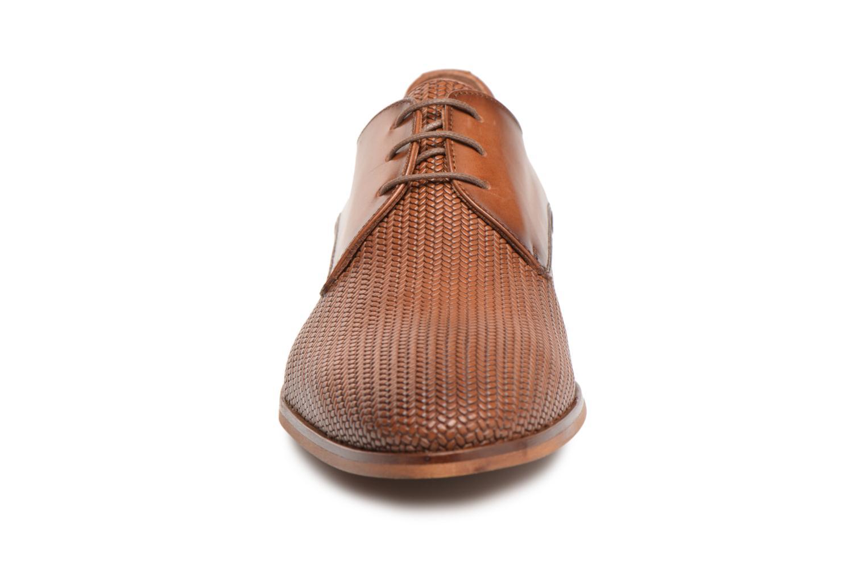 Chaussures à lacets Marvin&Co Titress Marron vue portées chaussures