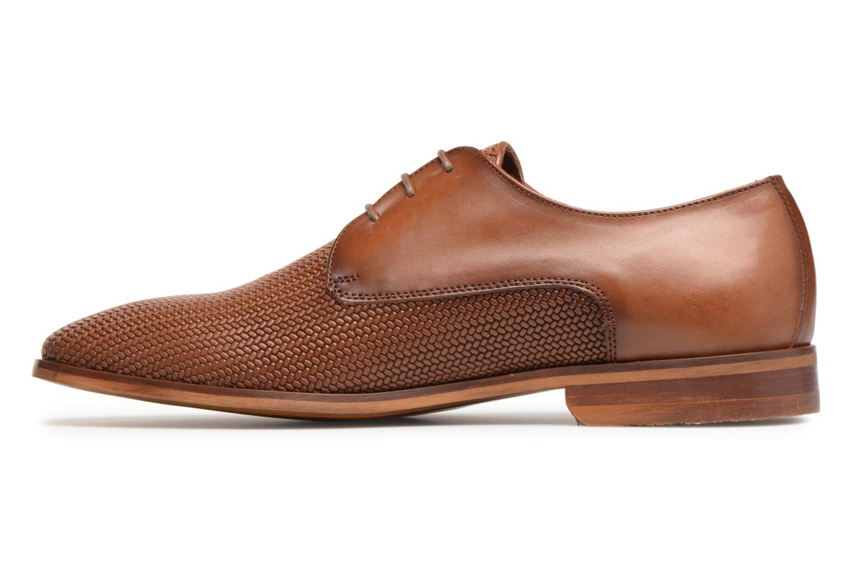 Chaussures à lacets Marvin&Co Titress Marron vue face