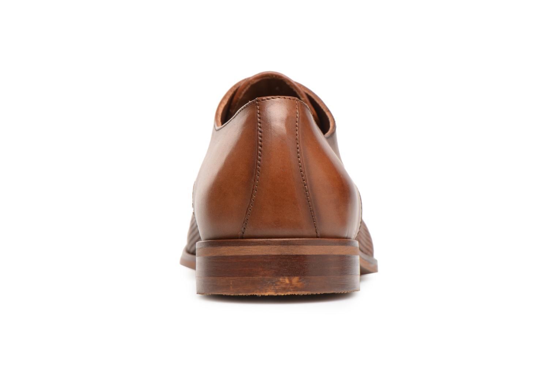Chaussures à lacets Marvin&Co Titress Marron vue droite