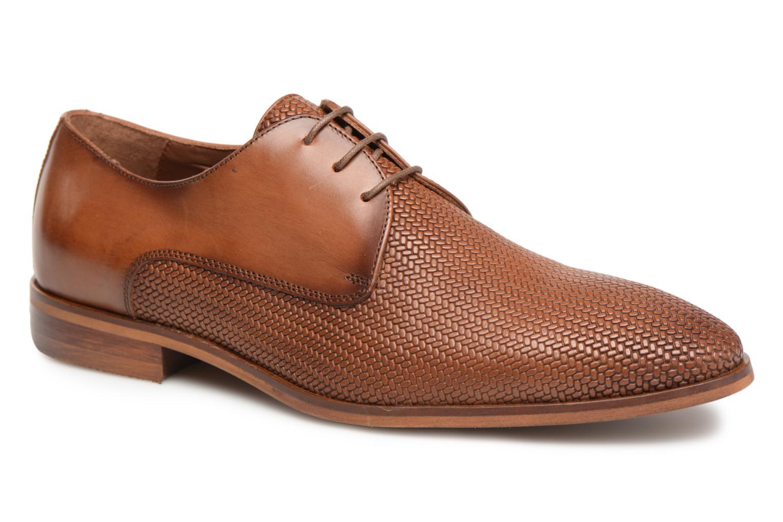 Chaussures à lacets Marvin&Co Titress Marron vue détail/paire
