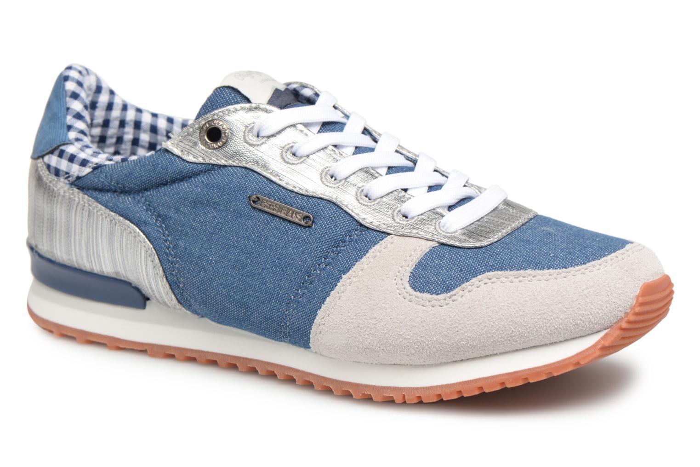 Grandes descuentos últimos zapatos Pepe jeans Gable Sue (Azul) - Deportivas Descuento