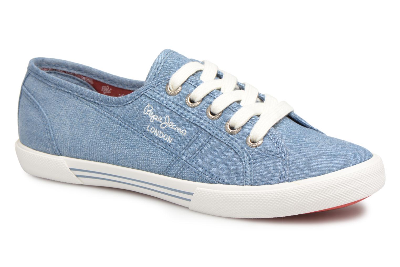 Grandes descuentos últimos zapatos Pepe jeans Aberlady Eighty (Azul) - Deportivas Descuento