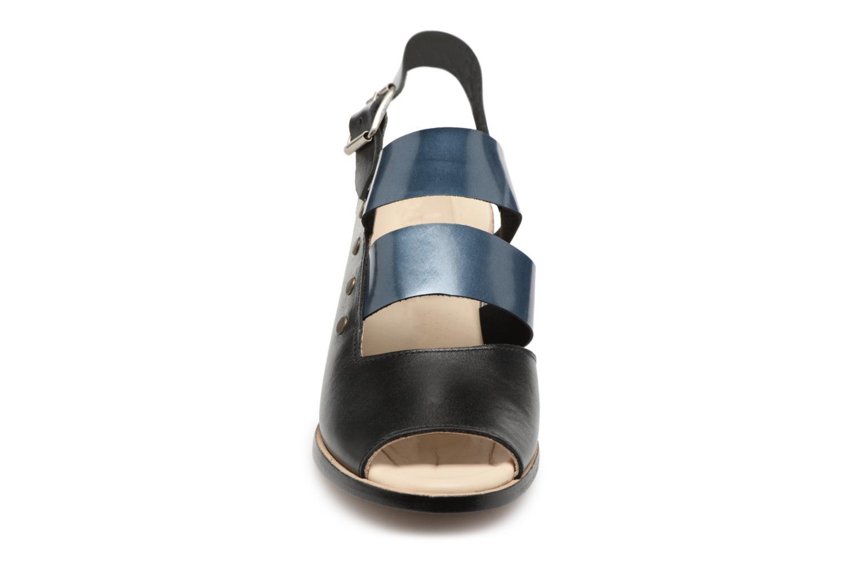 Zapatos promocionales Deux Souliers Asymmetrical Sandal #1 (Negro) - Sandalias   Zapatos casuales salvajes