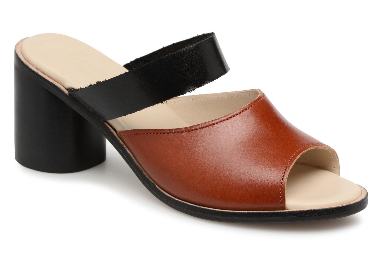 Zapatos promocionales Deux Souliers Basic Sandal #1 (Marrón) - Zuecos   Los últimos zapatos de descuento para hombres y mujeres