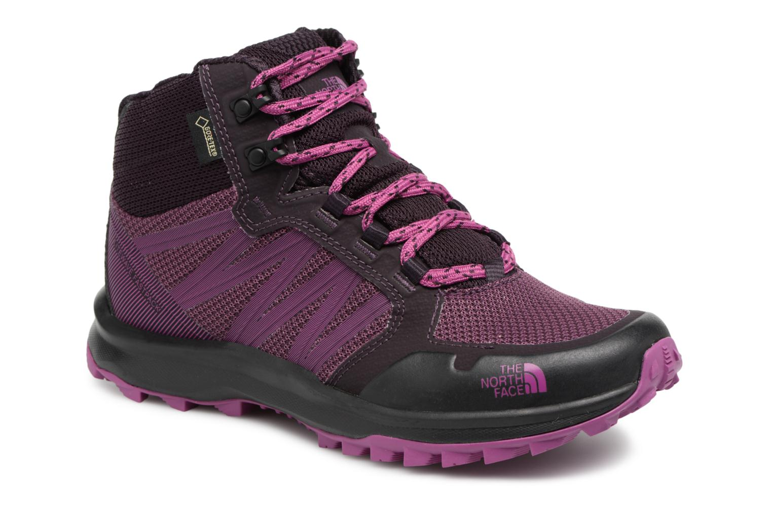 Chaussures de sport The North Face Litewave Faastpack Mid GTX W Violet vue détail/paire