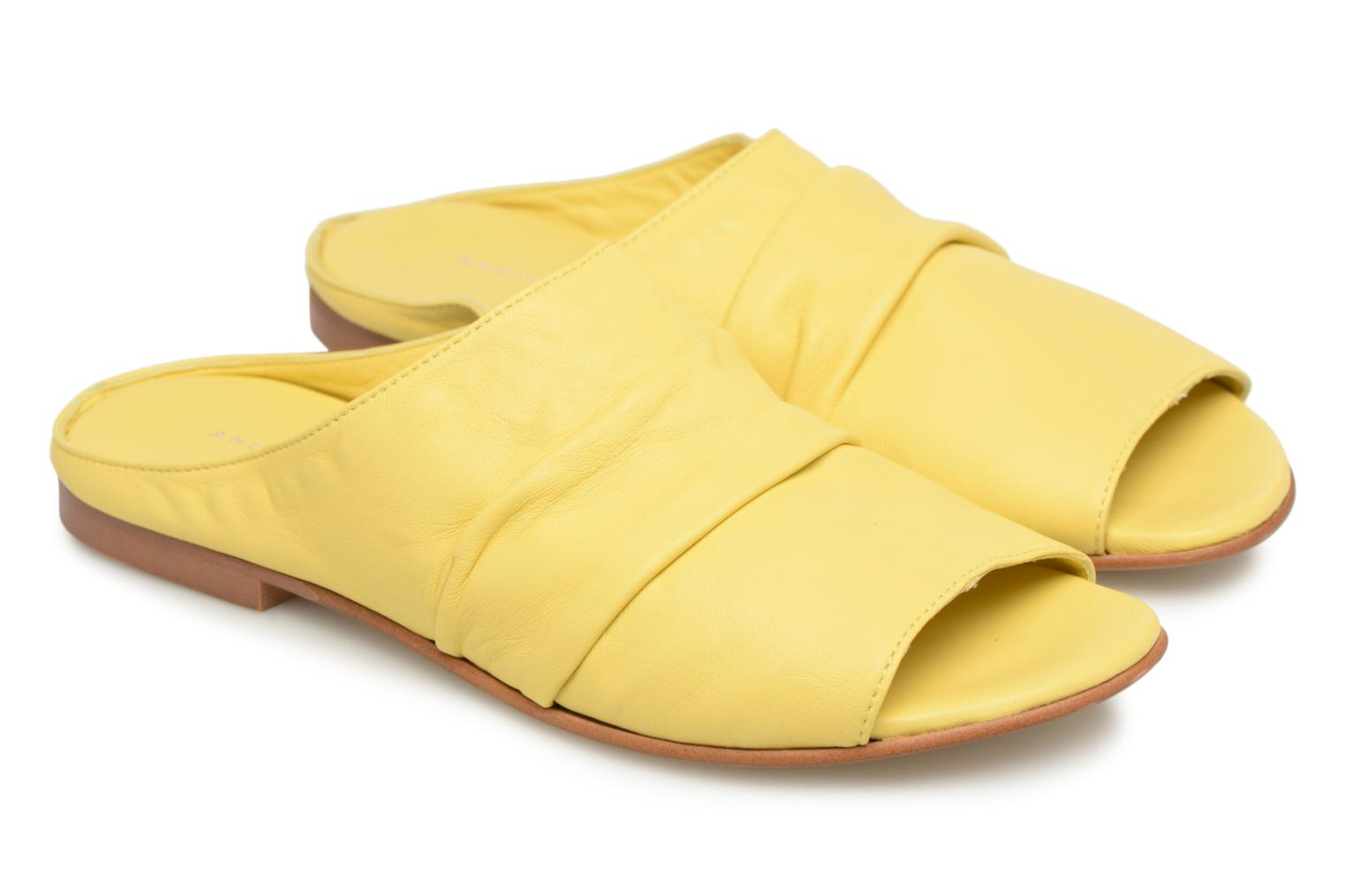 Mules & clogs Another Project Livoza Yellow 3/4 view