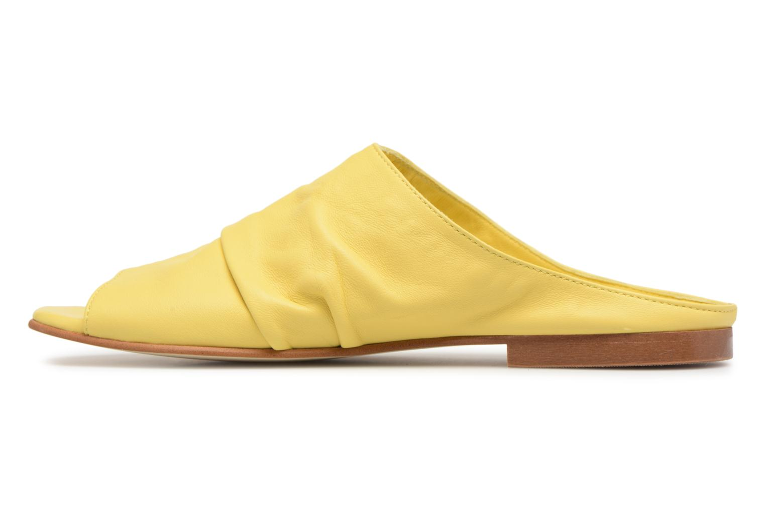 Mules & clogs Another Project Livoza Yellow front view