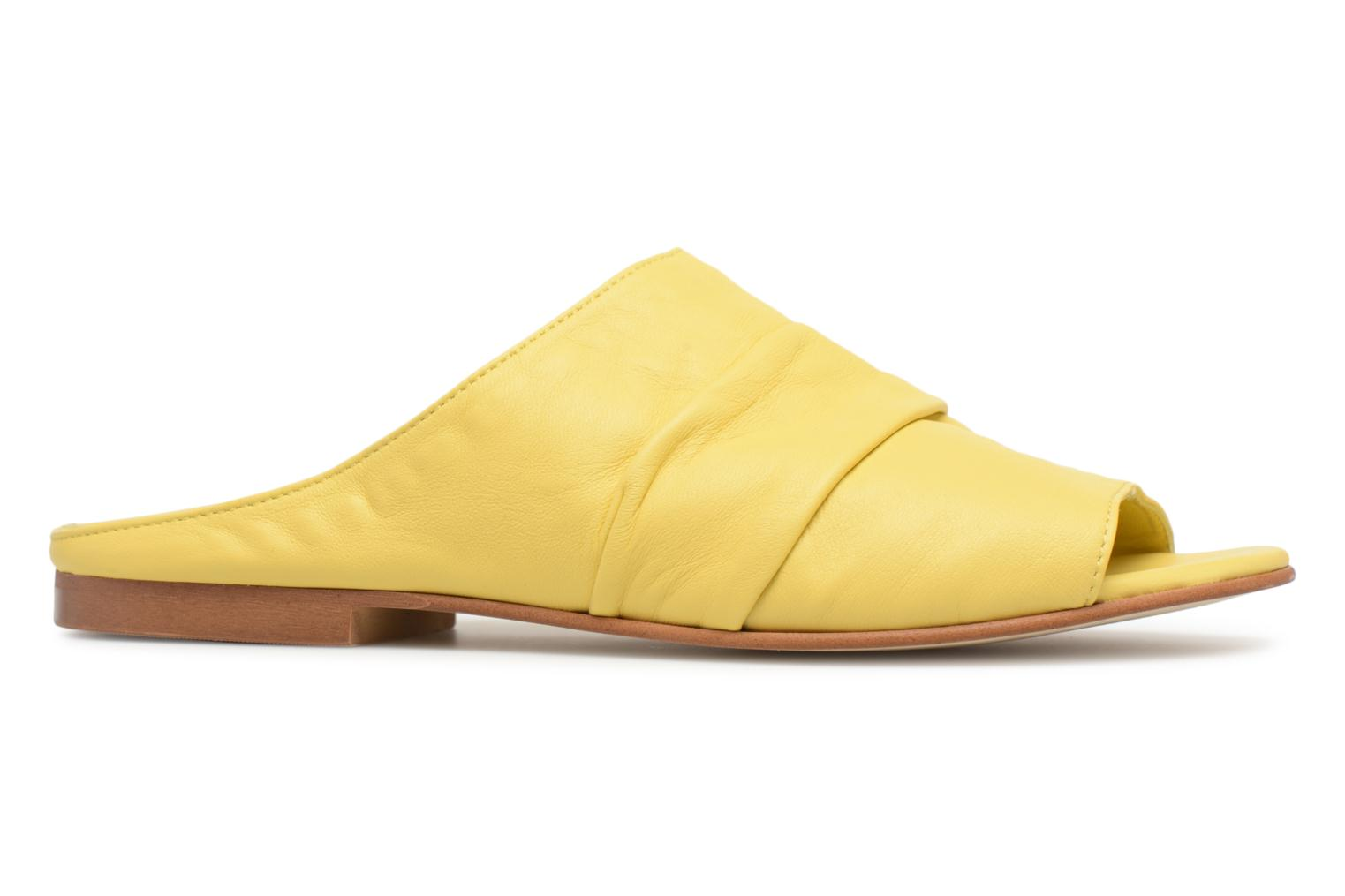 Mules & clogs Another Project Livoza Yellow back view