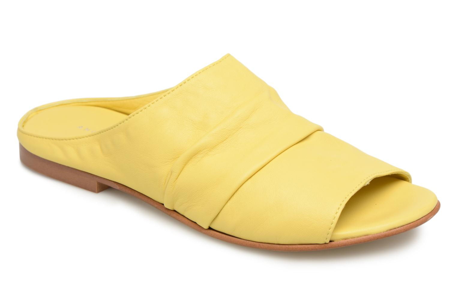 Mules & clogs Another Project Livoza Yellow detailed view/ Pair view