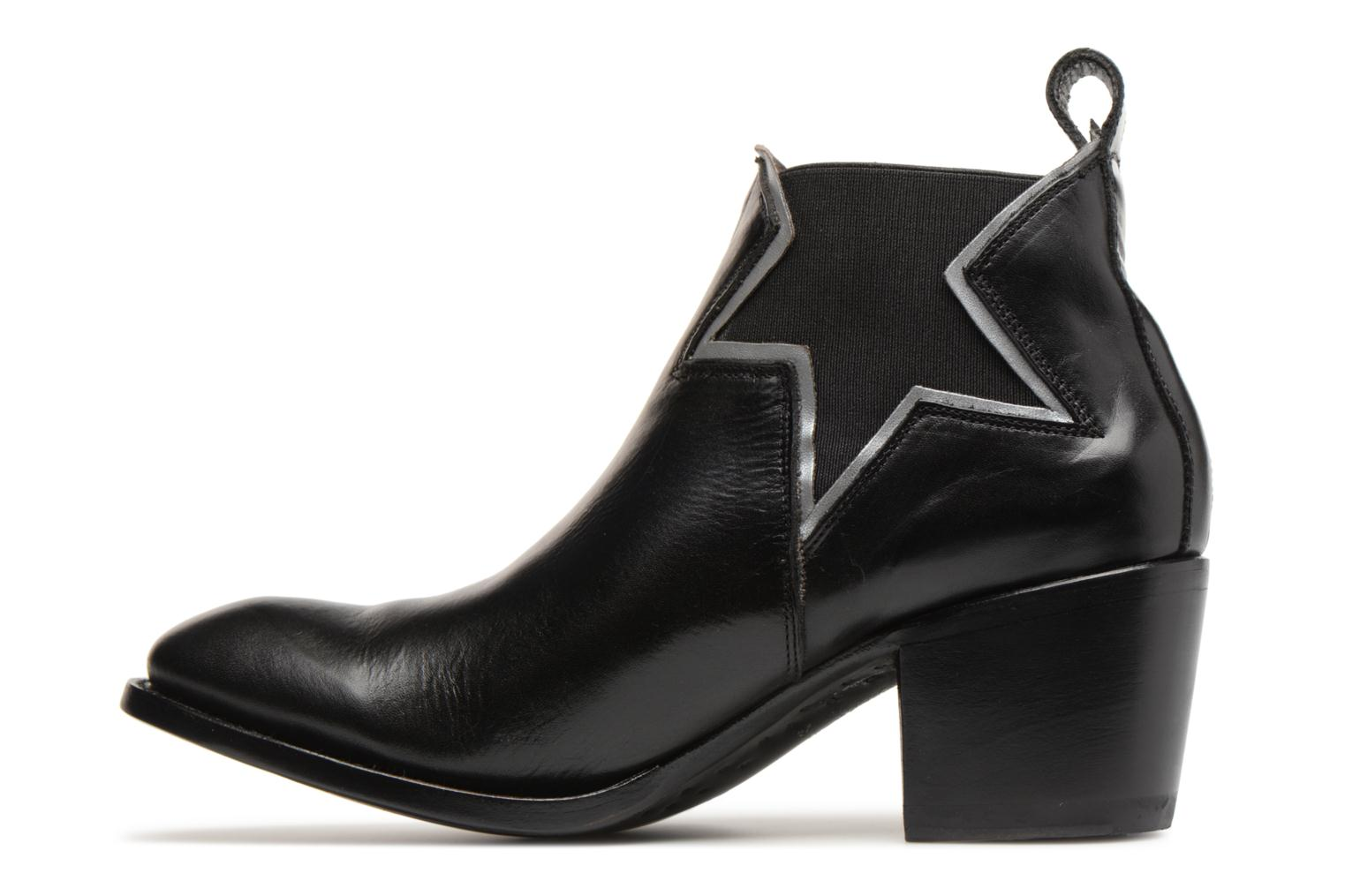 Ankle boots Mexicana Polacco Black front view