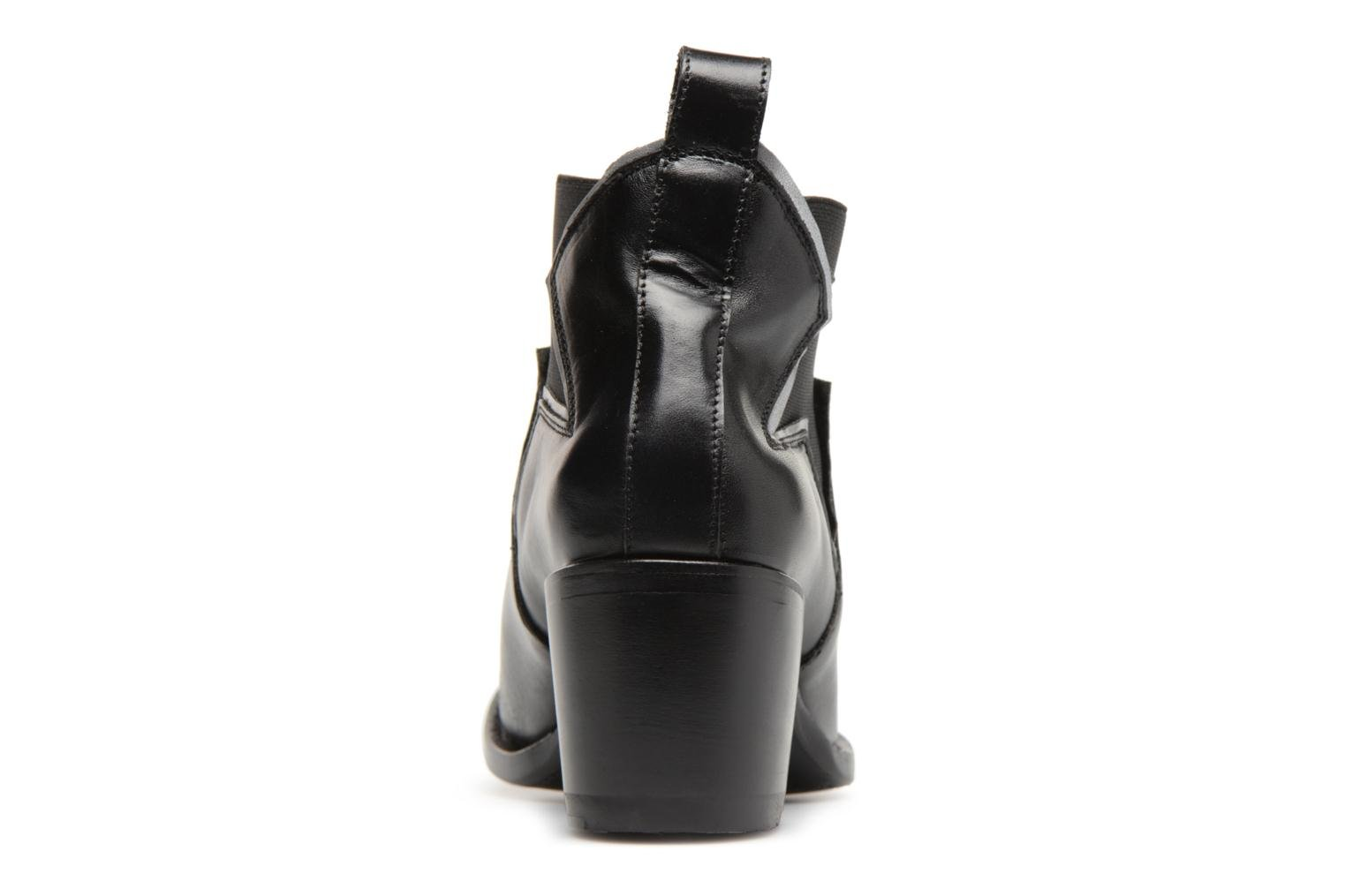 Ankle boots Mexicana Polacco Black view from the right