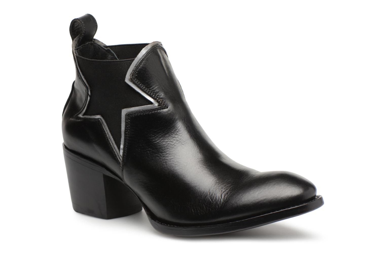 Ankle boots Mexicana Polacco Black detailed view/ Pair view
