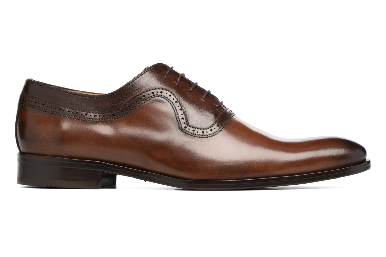 Chaussures à lacets Brett & Sons Will Marron vue derrière