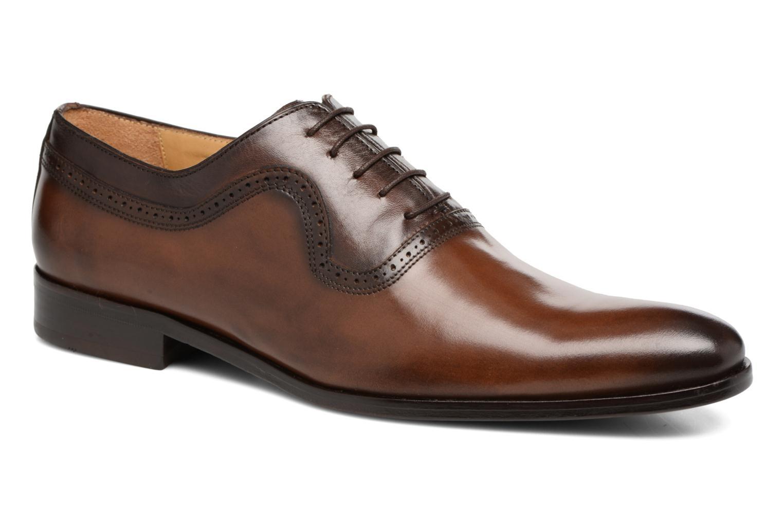 Chaussures à lacets Brett & Sons Will Marron vue détail/paire