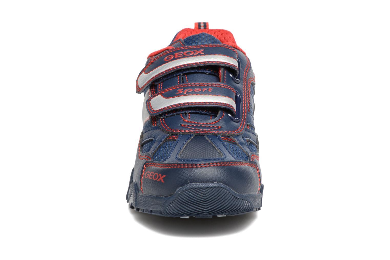 Sneakers Geox J Light Eclipse 2 BO J64BC Azzurro modello indossato